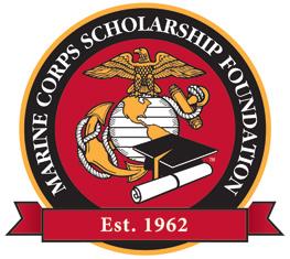 Marine Corps Scholarship Foundation logo