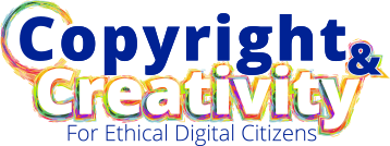 Copyright and Creativity for Ethical Digital Citizens Logo