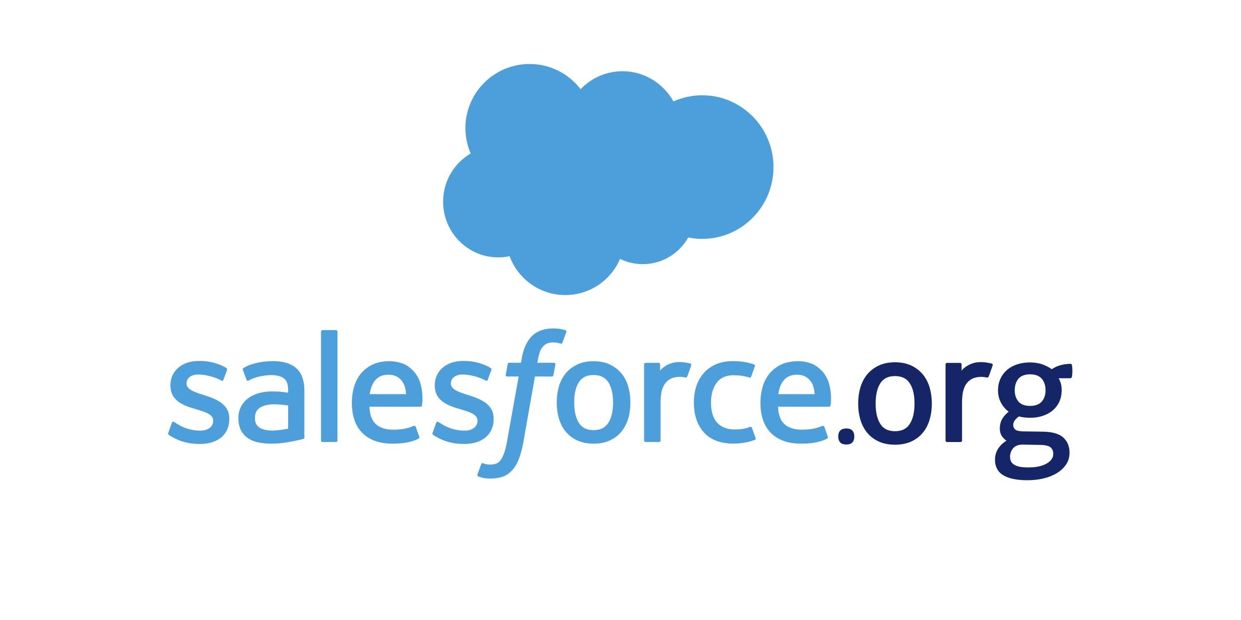 Logo of Salesforce.org
